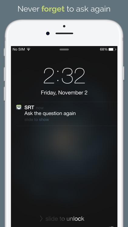Spaced Retrieval Therapy screenshot-4