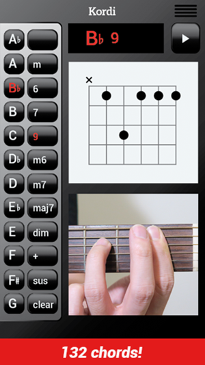 Kordi Guitar Chord On The App Store