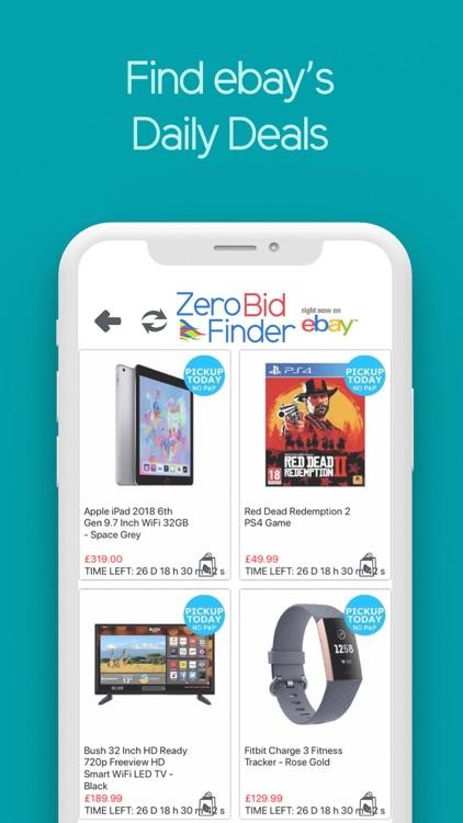 Zero Bid Finder for ebay USA screenshot-6