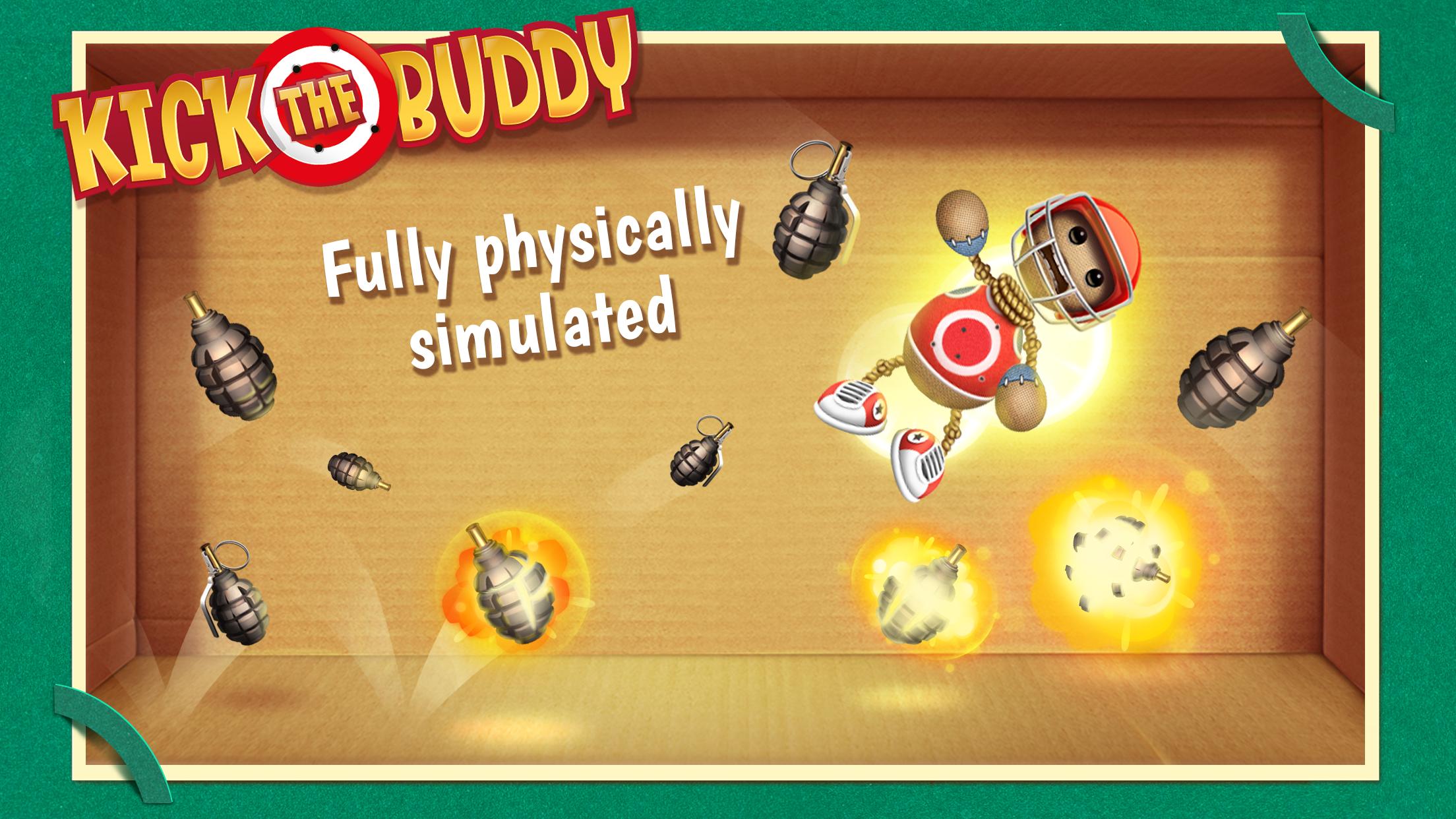 Kick the Buddy Screenshot