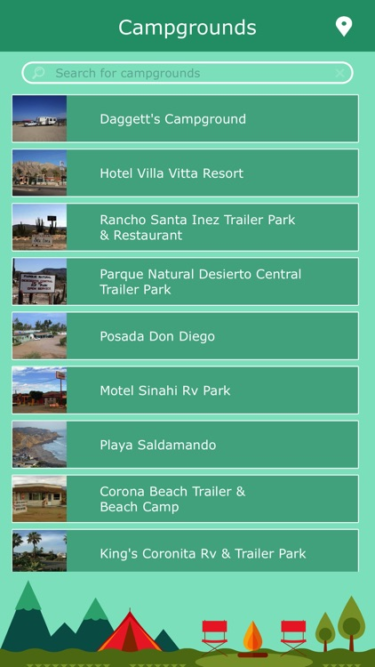 Mexico Camping Guide screenshot-1