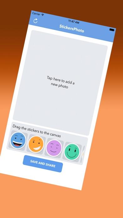 Netter Emoticons AufkleberScreenshot von 1
