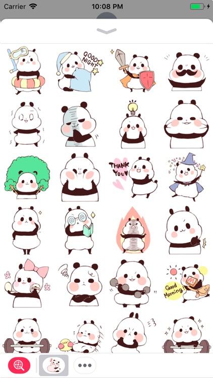 Good Panda Stickers screenshot-3