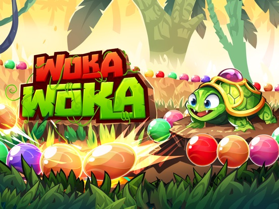 Marble Woka Woka: шарики & поп на iPad