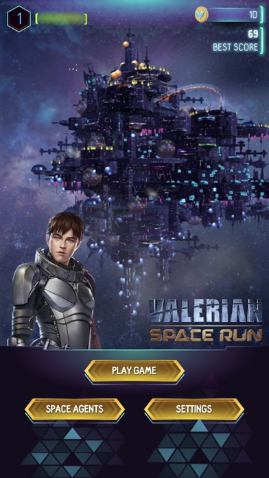 Valerian Space Run screenshot 2
