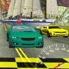 3 D ターボ スポーツ車のレース