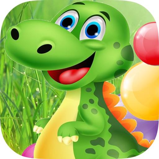 Динозавр взрывает пузыри - Логическая головоломка