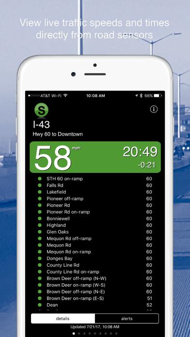 Milwaukee Traffic review screenshots