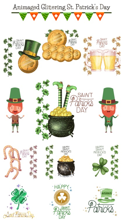 Glittering St. Patrick's Day screenshot-0