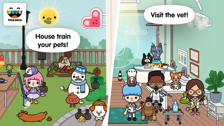 Toca Life: Pets screenshot-3