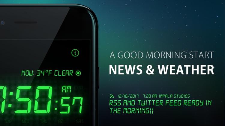 Alarm Clock HD screenshot-4