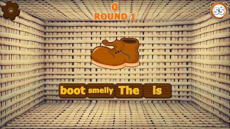Sentence Scramble Game Full screenshot-3