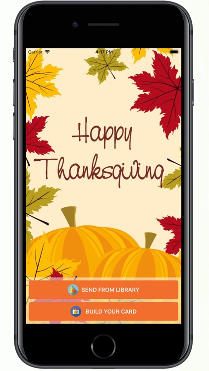 Happy Thanksgiving - Gift Card