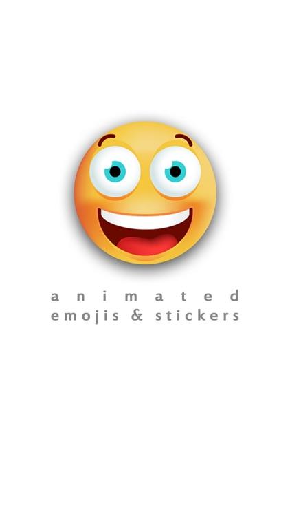Animated Emojis & Stickers screenshot-0
