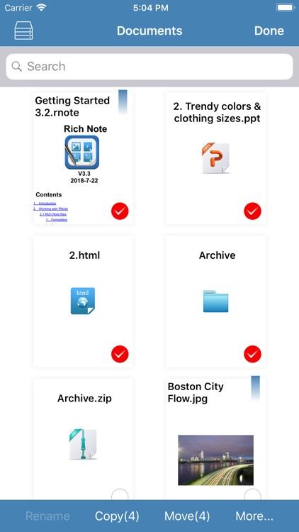 Rich Note & PDF Maker screenshot-4