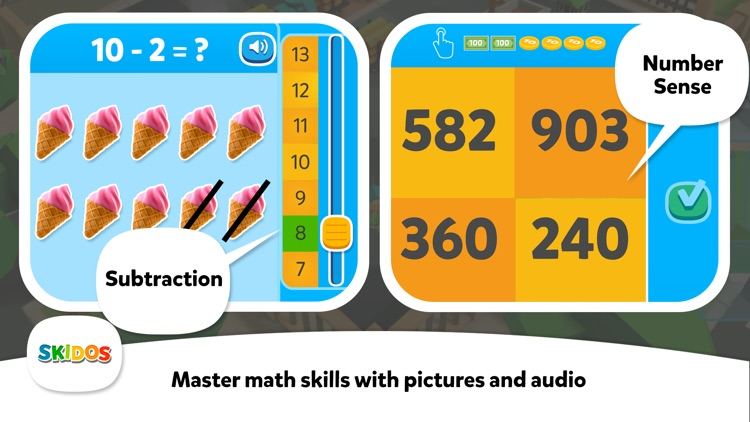 Kids Train Games : Cool Math screenshot-4