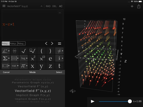 Screenshot #5 pour Visual Math 4D