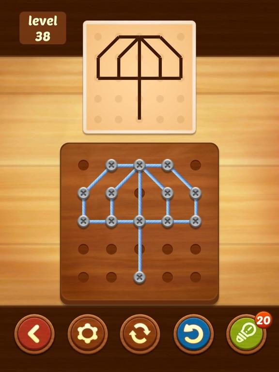 Скачать игру Line Puzzle: String Art