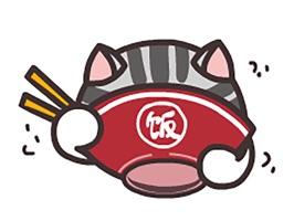 Cute Cat Mr.Hui Sticker