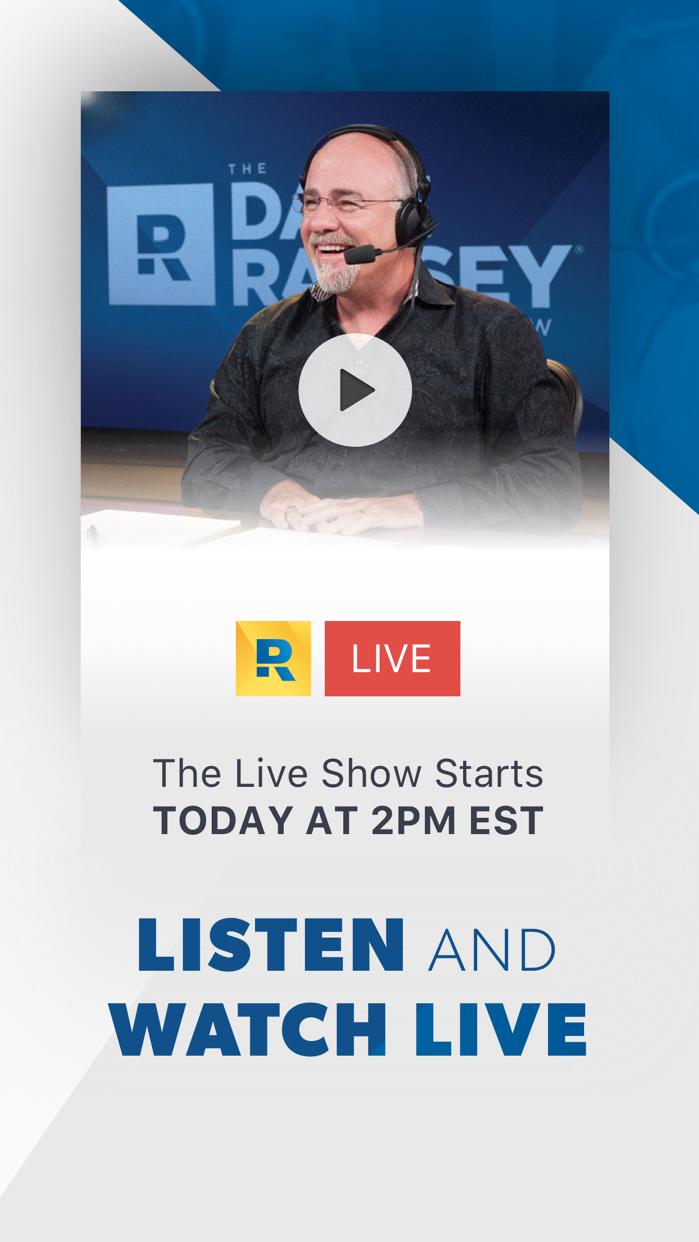 Dave Ramsey Show Screenshot