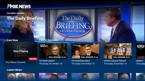 Screenshot #11 for Fox News: Live Breaking News