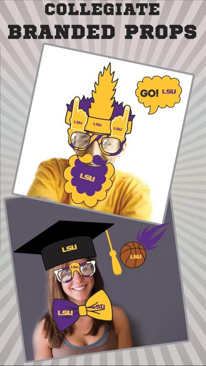 LSU Tigers PLUS Selfie Stickers
