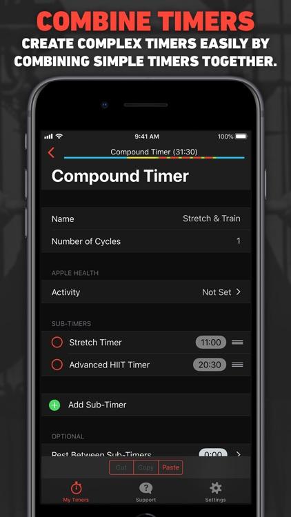 Seconds Interval Timer HIIT screenshot-4