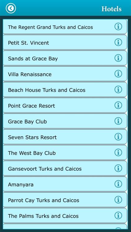 Turks & Casico Island Guide screenshot-3