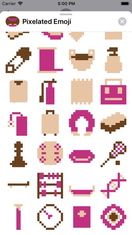 Pixelated Emoji