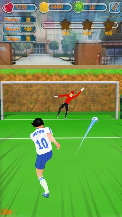 Mobile Soccer Cartoon 2018 Screenshot on iOS