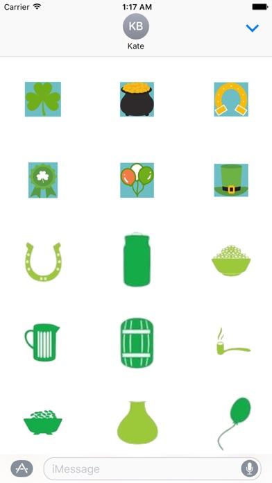 St Patricks Day Sticker Pack screenshot 1