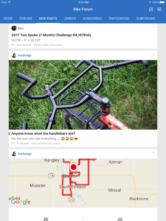 TwoSpoke Bike Cycling Forum screenshot