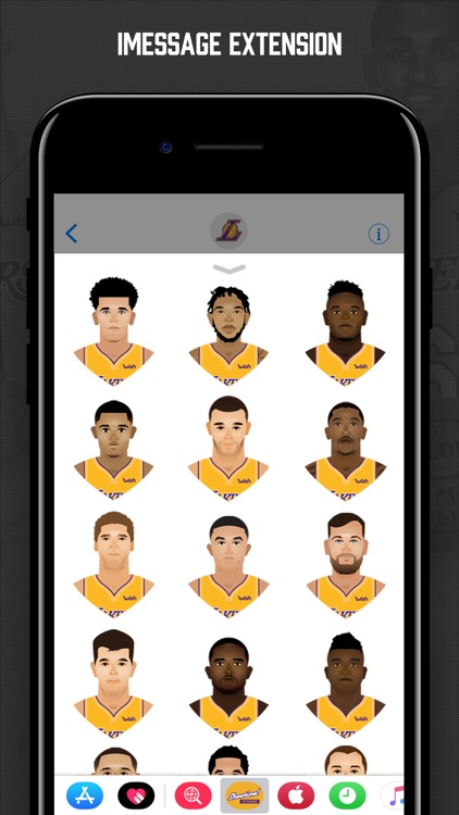 Lakers Showtime Stickers screenshot-3