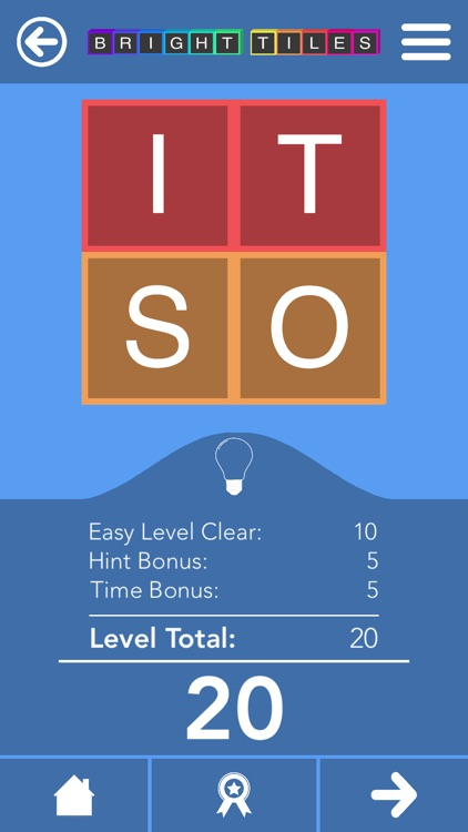 Bright Tiles - Word Puzzles