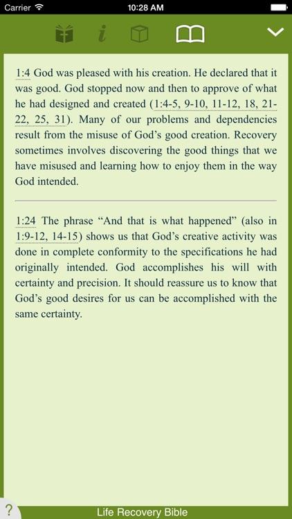 Life Recovery Bible screenshot-3