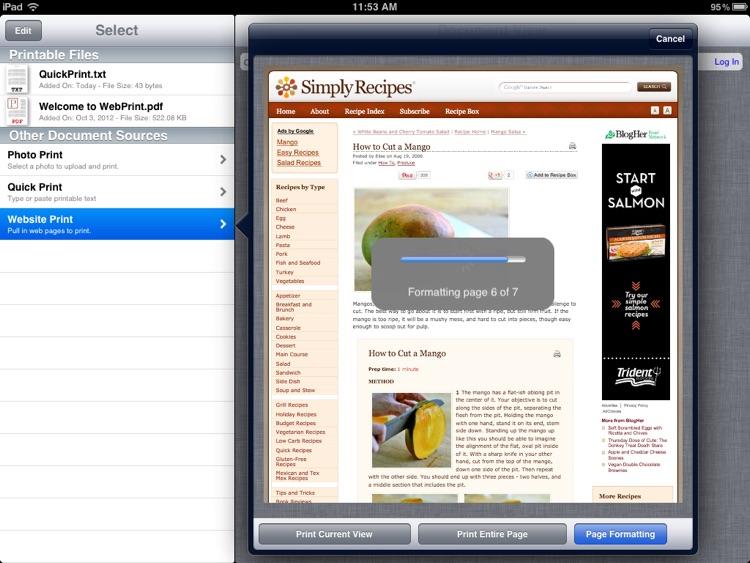 WebPrint for Print Manager screenshot-3