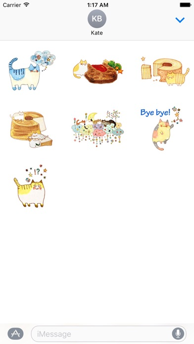 download Colorful Dreams Of Cat Sticker apps 1