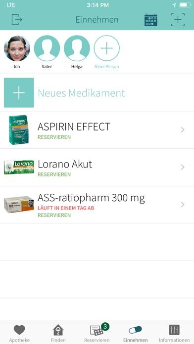 Screenshot for ApothekenApp in Germany App Store