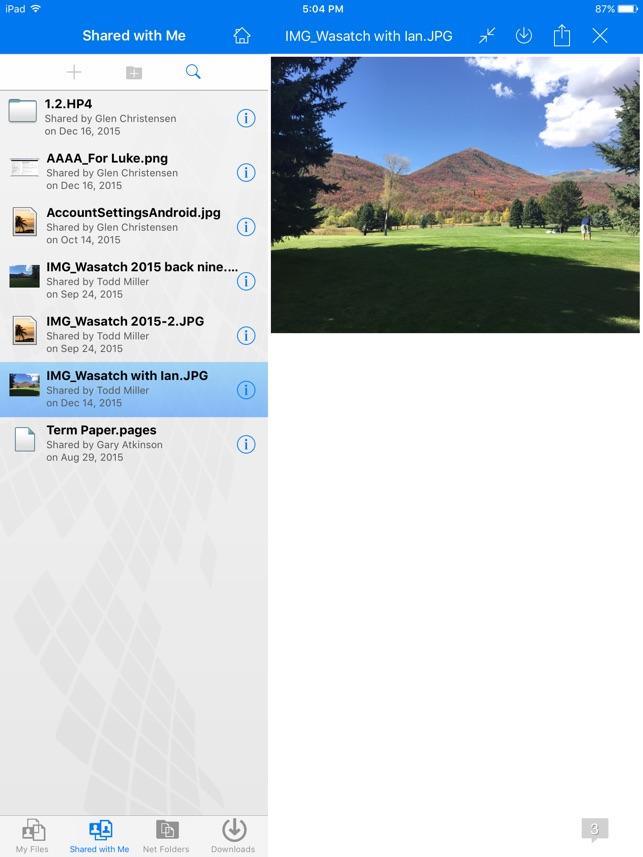 Micro Focus Filr on the App Store