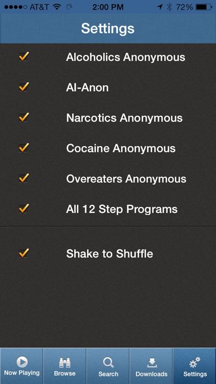 12 Steps Speakers screenshot-4