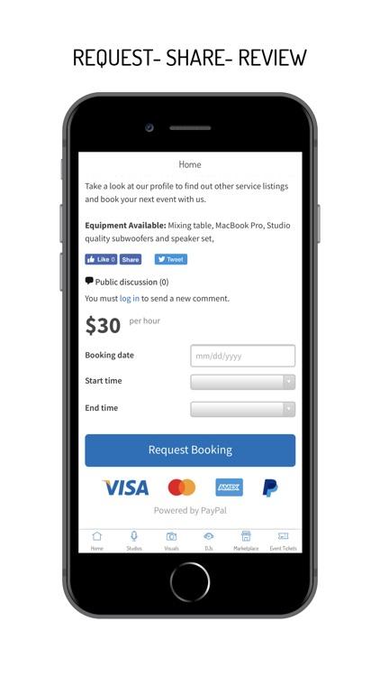 Booking Creative Services screenshot-4