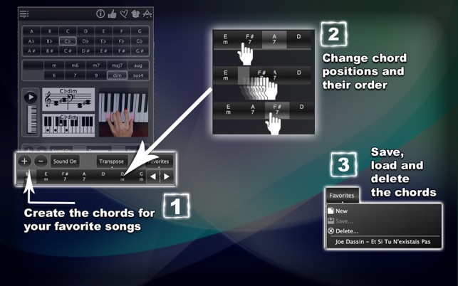 120 Piano Chords On The Mac App Store