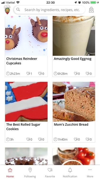 Christmas Recipe Land screenshot-3