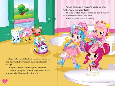 the birthday surprise shopkins shoppies level 2 reader by leigh