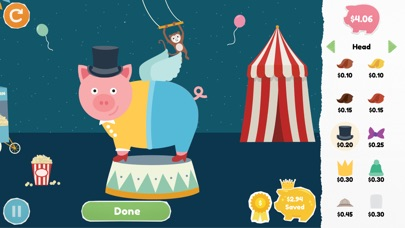 Peter Pig's Money Counter Screenshot on iOS