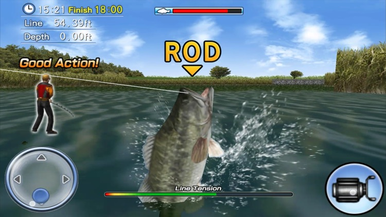 Bass Fishing 3D Premium screenshot-4