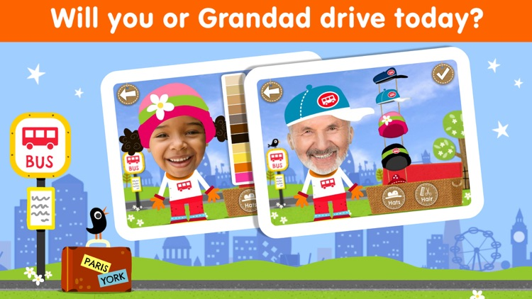 Wheels on the Bus Song & Games screenshot-3
