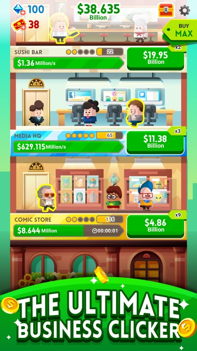 Cash, Inc. Fame & Fortune Game screenshot 2