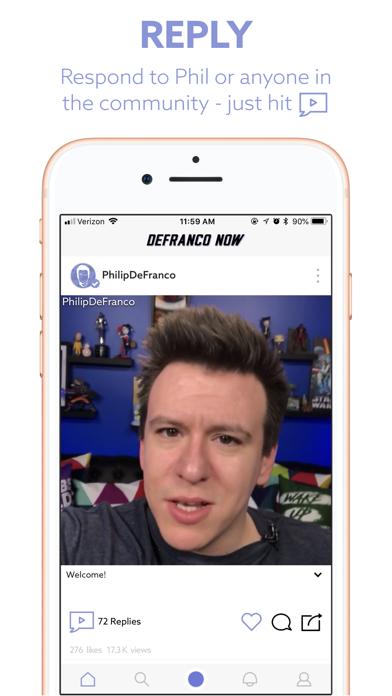 DeFranco Now screenshot two
