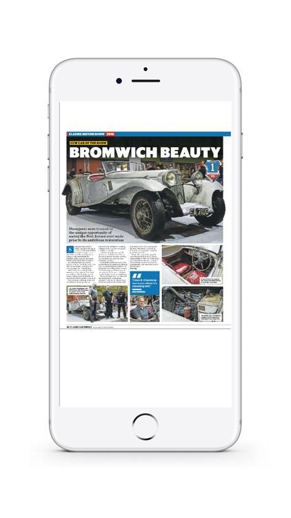 Classic Car Weekly Newspaper screenshot-3